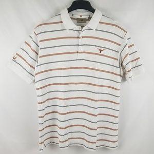 Texas Longhorns Polo Shirt Tee Medium